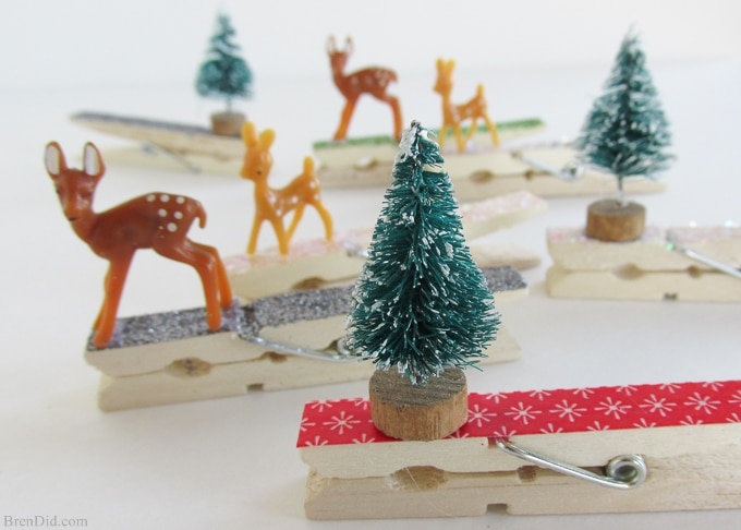 clothespin crafts homemade christmas