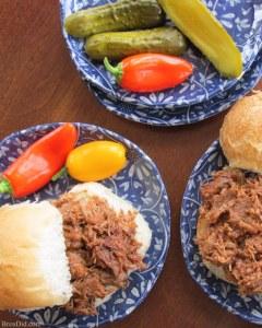 Braised Beef Barbecue easy crock pot recipe