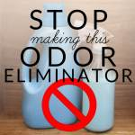 Stop Making This Homemade Odor Eliminator