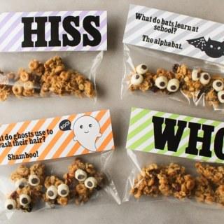 Free Printable Halloween Goodie Bag Toppers