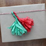 How to Make Tassels from Tissue Paper