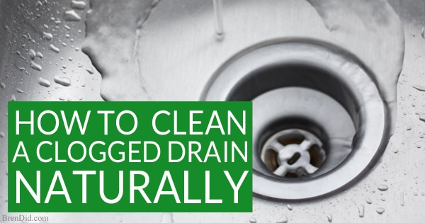 kitchen drain clog jcpenney rugs how to naturally clean a clogged drain: the definitive ...