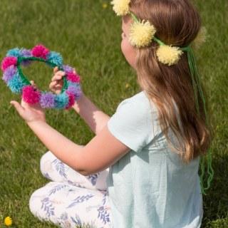 How to Make Tassel Flower Crowns