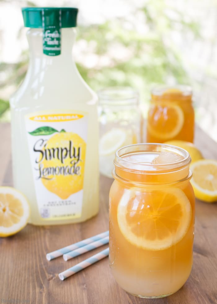 Looking for a crisp refreshing summer drink? Try a frozen Arnold Palmer! It's a delicious non-alcoholic beverage made with lemonade and ice tea. Plus a bonus tip to make sure your drink never becomes weak and watery.