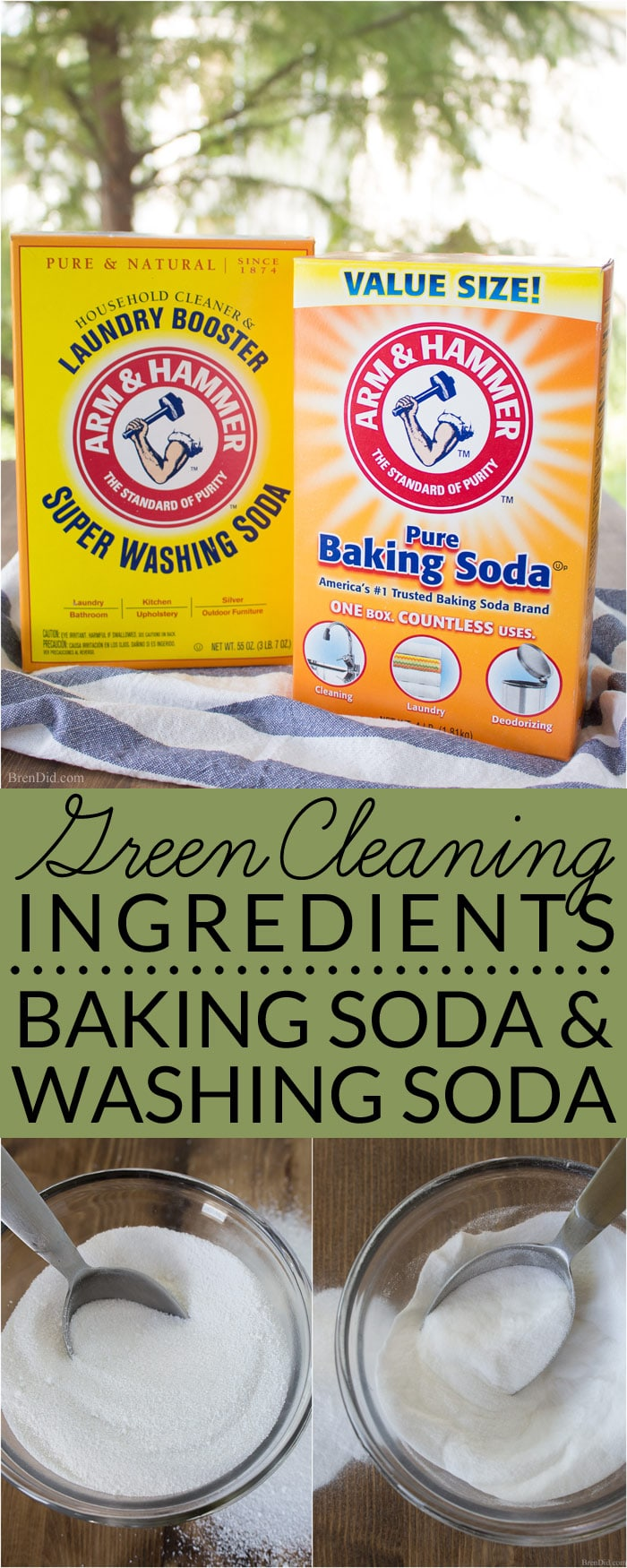 what is the difference between washing soda and baking soda bren did. Black Bedroom Furniture Sets. Home Design Ideas