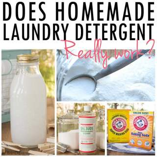 Do Homemade Laundry Detergents Really Work?