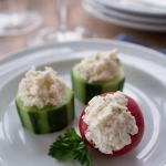 Cucumber & Pepper Cups: 5 Minute Appetizer Recipe