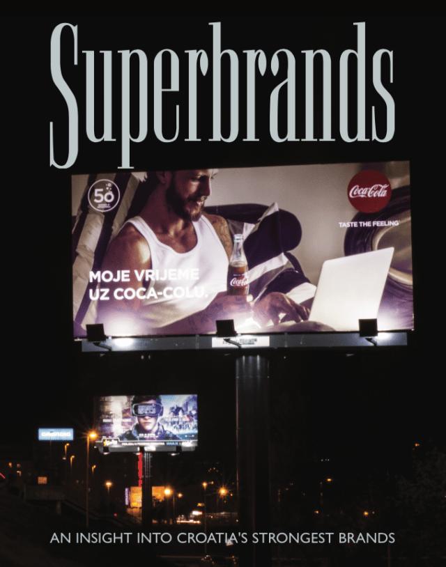 Zagreb plakat - Superbrands 2017/18.