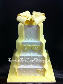 50th anniversary yellow bow
