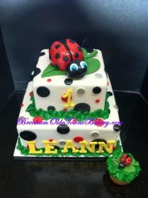 ladybug polka dots birthday