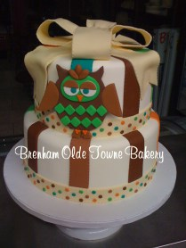 owl bedding baby shower