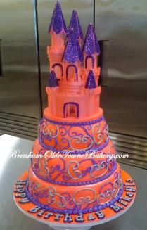 pink castle birthday