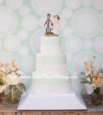 Seafoam and Lace Hacienda Wedding