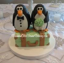 wedding penguins