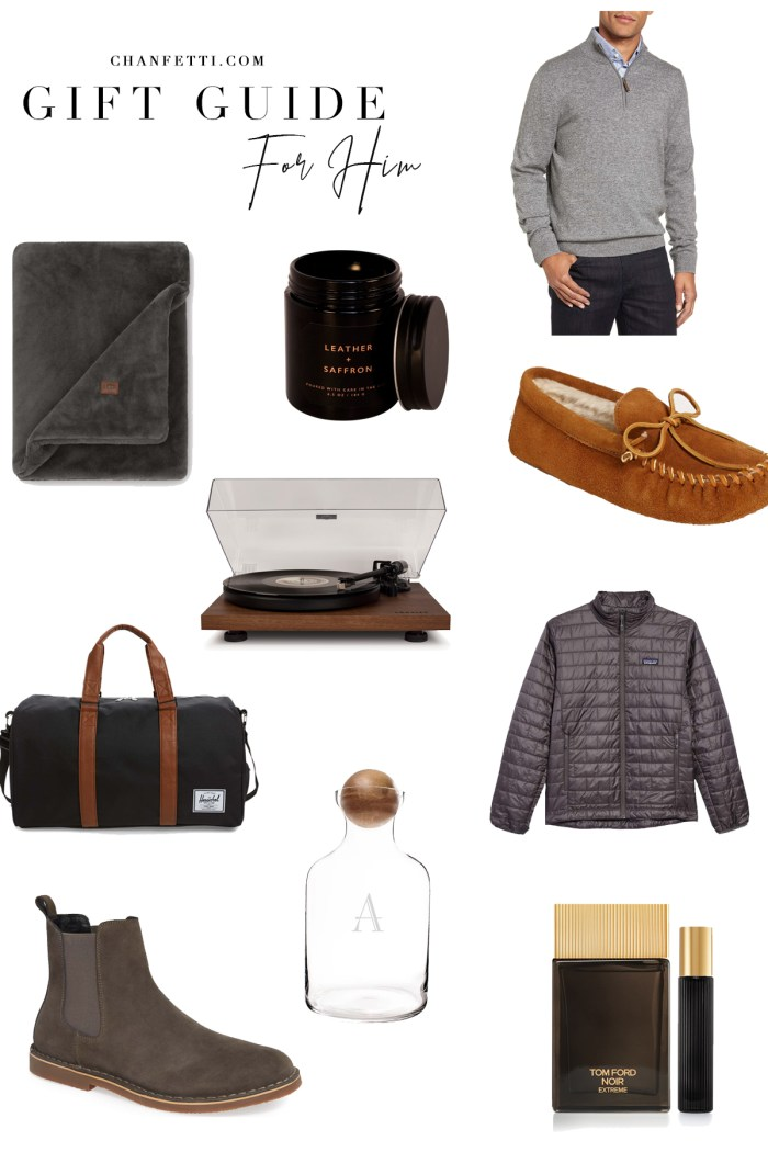 Gift Guide 2018: For Him