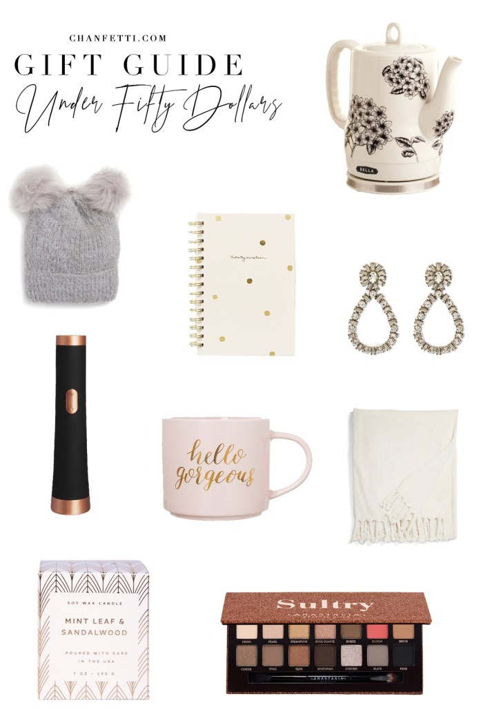 Gift Guide 2018: Under $50