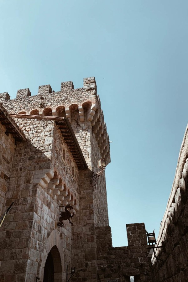 Castello di Amorosa Winery - Chanfetti Blog by Brenna Anastasia