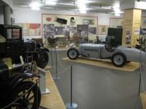 Blick in die Brennabor-Ausstellung des Industriemuseums Brandenburg an der Havel - ohne den Brennabor-Verein nur schwer vorstellbar.