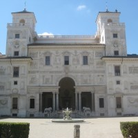 A lesser known but still lovely villa: the Villa Medici (which, is totally subtle in every way)