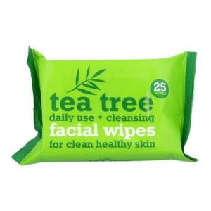 Tea Tree Facial Wipes Twin Pack (25 wipes) | Brennans Pharmacy