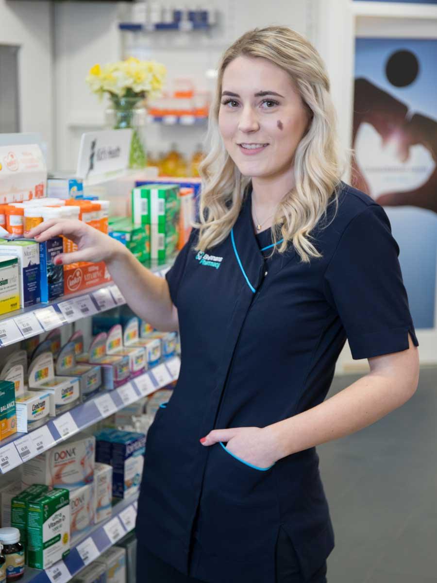 Abigail Doherty | Buncrana | Brennans Pharmacy