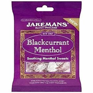 JAKEMANS BLACKCURRANT AND MENTHOL 100G