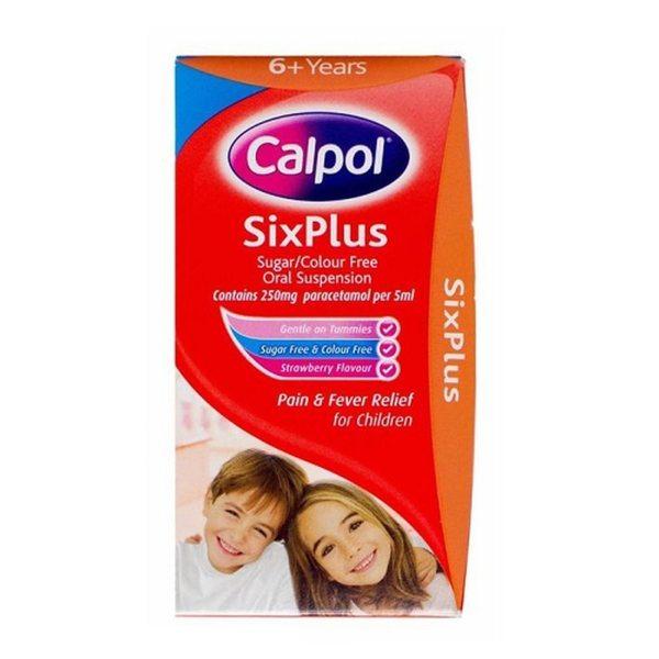 CALPOL SIX PLUS 250MG 5ML 140ML