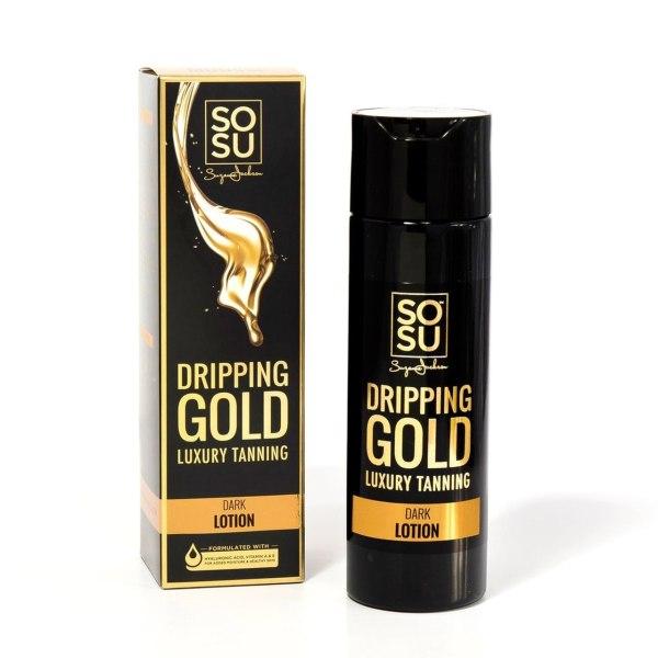 Sosu Dripping Gold Luxury Tanning - Dark Mousse   Brennans Pharmacy