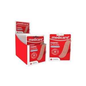 MEDICARE FABRIC PLASTERS (10's)