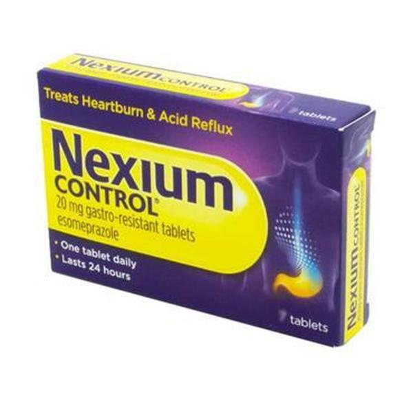 NEXIUM CONTROL 20MG GASTRO RESISTANT TABS PH ONLY (14's)