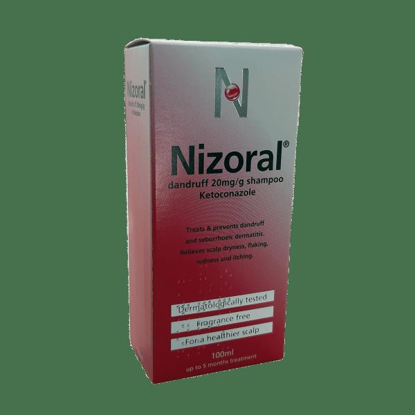 NOZORAL DANDRUFF 20MG SHAMPOO 100ML