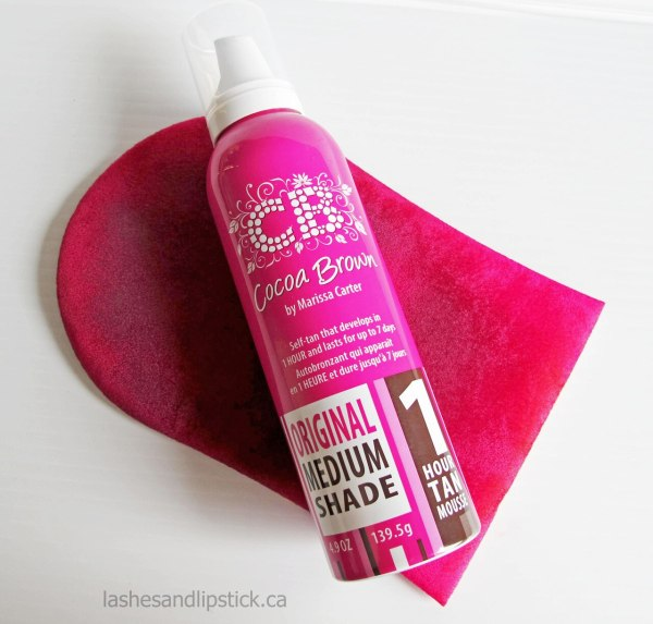 COCOA BROWN 1-HOUR TAN MOUSSE DARK 150ML