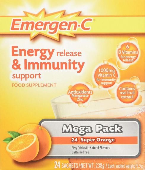EMERGEN C ORANGE (24's)