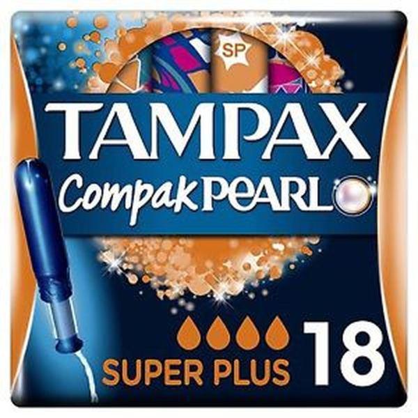TAMPAX COMPAX PEARL REGULAR (18's)