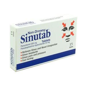 SINUTAB NON DROWSY TABS PH ONLY (15'S)