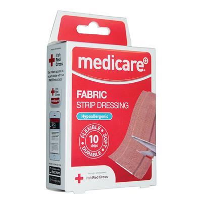 MEDICARE FABRIC STRIP DRESSING (10's)