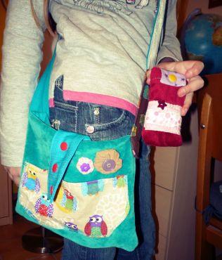 selbstgenähte Taschen