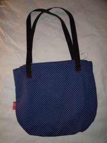 maritime Handtasche Rückseite Stoff