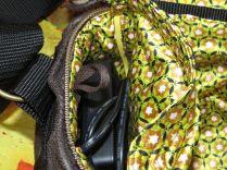 Brennender Schuh - Kameratasche mit gepolstertem Innenfach Fototasche Pixbag