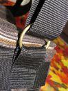 Brennender Schuh - Kameratasche verstellbarer Gurt goldene Ringe
