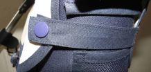 Brennender-Schuh Befestigung Regenschutz Kinderwagen-Organizer dunkel-blau, Buggy-Organizer, Baby-Wickeltasche genäht
