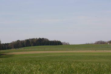 Der geplante Brenner-Nordzulauf zerschneidet wertvolles Grünland und zerstört die Existenz vieler Landwirte in Ostermünchen. Quelle: Brennerdialog