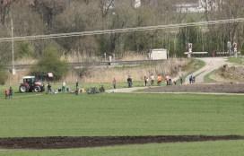Großkarolinenfeld bekommt ein mehrstöckiges Kreuzungswerk, damit die Bahn von der neuen auf die alte Strecke wechseln kann. Quelle: Brennerdialog