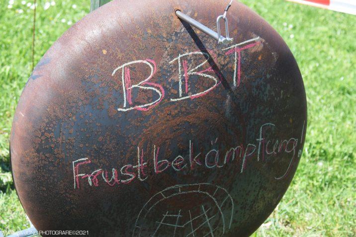 Protest in Neubeuern gegen den Brenner-Nordzulauf. Quelle: Maresa Jung