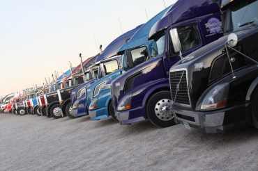 Truck lineup in 2012.