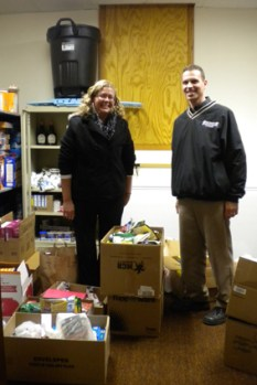 2012 Food Shelf Donation