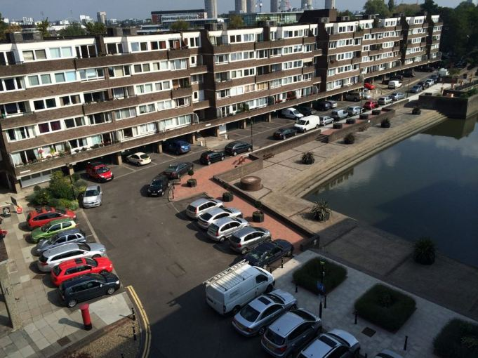 Brentford Dock Aerial View Car Park
