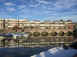 Brentford Dock Mariina Reflection