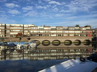 Brentford Dock Mariina Reflection