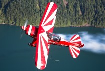 Pitts over Beautiful BC
